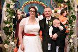 Bauer sucht Frau: Tanja und Jürgen mit Sohn Tim