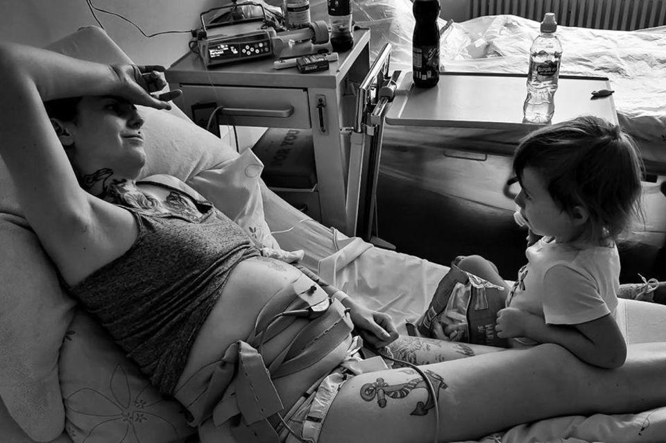 Mama-Bloggerin Jenny Im Krankenhaus