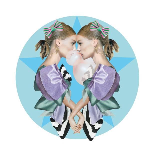 Jahreshoroskop Zwillinge: Zwillingspaar