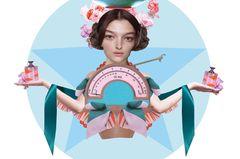 Jahreshoroskop Waage: Frau als Waage