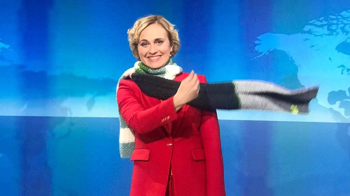 "Sandra Maischberger, Franziska Giffey & Co. tragen den ""Schal fürs Leben"""