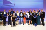 Promi-Events: Preisträger auf der Bühne