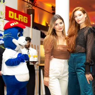 Promi-Events:  Model Jana Heinisch und Bloggerin Maxime Herbord