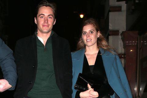 Prinzessin Beatrice zeigt sich erstmals nach Andrew-Skandal