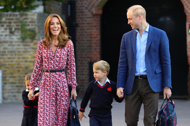 Prinz William: So clever vermittelt er zwischen George und Charlotte