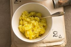Stampfkartoffeln: Gestampfte Kartoffeln