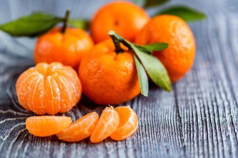 Mandarinen: Mehrere Mandarinen
