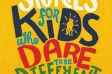 """Dieses Buch ist für alle Mädchen, die gerne Kampfsport machen, und für alle Jungs, die gerne Ballett tanzen – und für alle Kinder, die Wissenschaftler, Erfinder oder Politiker werden wollen und nach großen Vorbildern suchen.  """"Stories for Kids Who Dare to be Different - Vom Mut, anders zu sein""""erschienen bei Loewe für 14,99 €"""