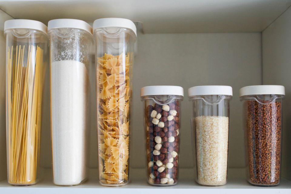 Lebensmittel richtig lagern: Foto von verschiedenen Lebensmitteln