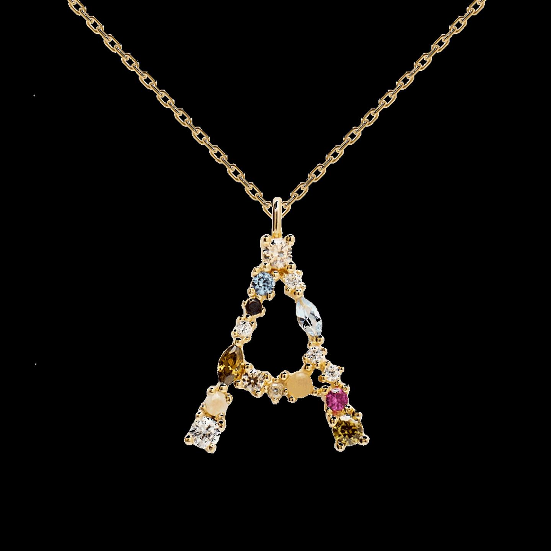 ... oder welchen Buchstaben auch immer ihr euch an den Hals hängen wollt. Buchstabenketten sind gerade der heiße Scheiß im Schmuckbereich und dieses Exemplar gehört definitiv zu den Highlights. Mehrfach-Vergoldung, Edelsteine und Zirkonia verwandeln sie in ein echtes Lieblingsteil. Von PD Paola, um 60 Euro.