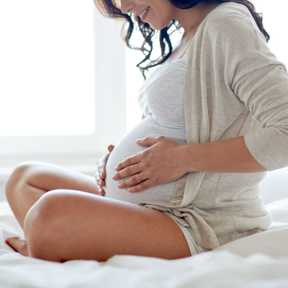 Sie denkt, dass sie Zwillinge bekommt - dann kommt die Überraschung: Foto von einer Schwangeren