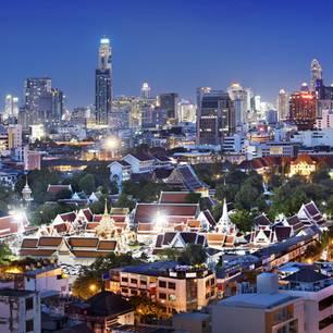 Die beliebtesten Städte der Welt: Bangkok (Platz 2)