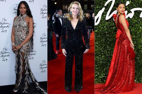 British Fashion Awards 2019: Die festlichen Looks vom roten Teppich