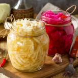 Sauerkraut selber machen: Sauerkraut im Glas