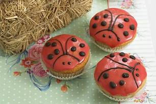Marienkäfer-Muffins