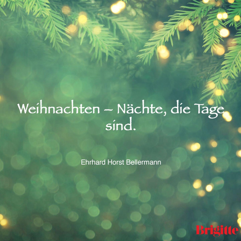 Weihnachten – Nächte, die Tage sind.