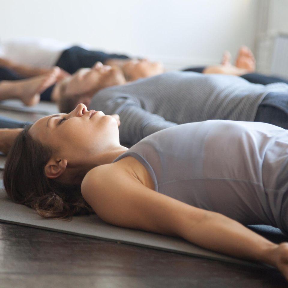 Bodyscan: So geht die Achtsamkeitsübung