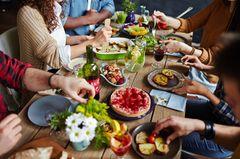 Veganuary: Dinner mit Freunden