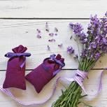 Duftsäckchen nähen: Lavendelsäckchen und Lavendel