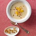 Schwarzwurzel-Orangen-Suppe