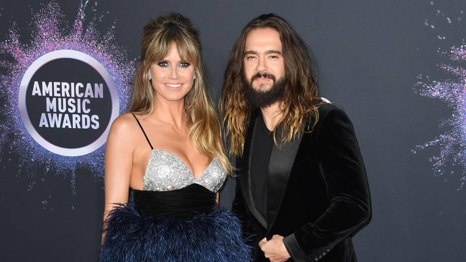 Tom Kaulitz und Heidi Klum: Romantische Weihnachten