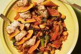 Puten-Kebab mit Chakalaka