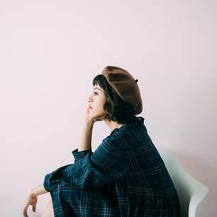 Kann ich mich ändern?: Nachdenkliche Frau
