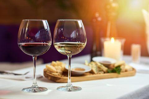 Rotwein oder Weißwein? Die Grundregeln