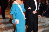 Looks der Royals: Sofia  im blauen Kleid