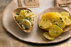 Schwäbischer Kartoffelsalat nach traditionellem Rezept