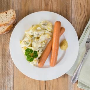 Kartoffelsalat mit Würstchen