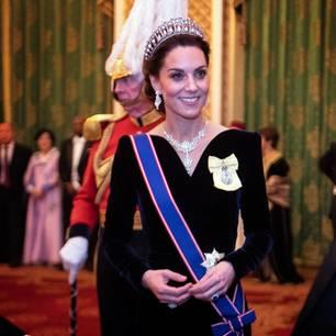 Herzogin Kate: mit Tiara