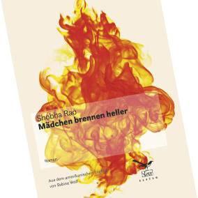 """Buchtipps der Redaktion: Buchcover """"Mädchen brennen heller"""""""