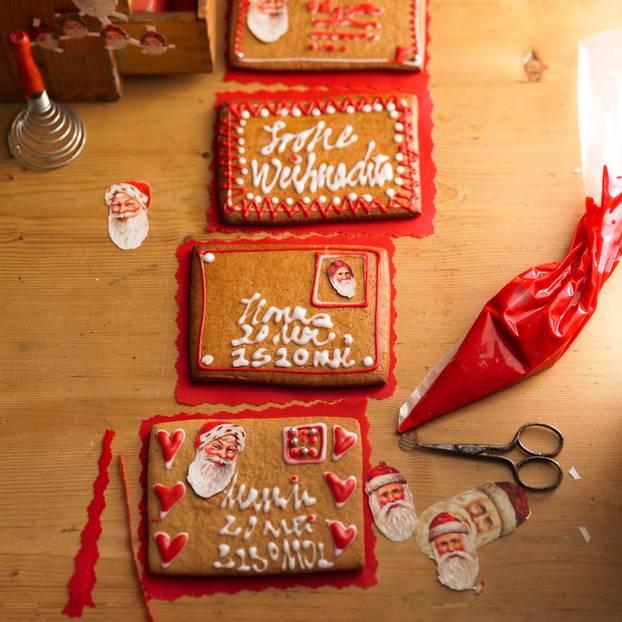 Lebkuchen-Briefe
