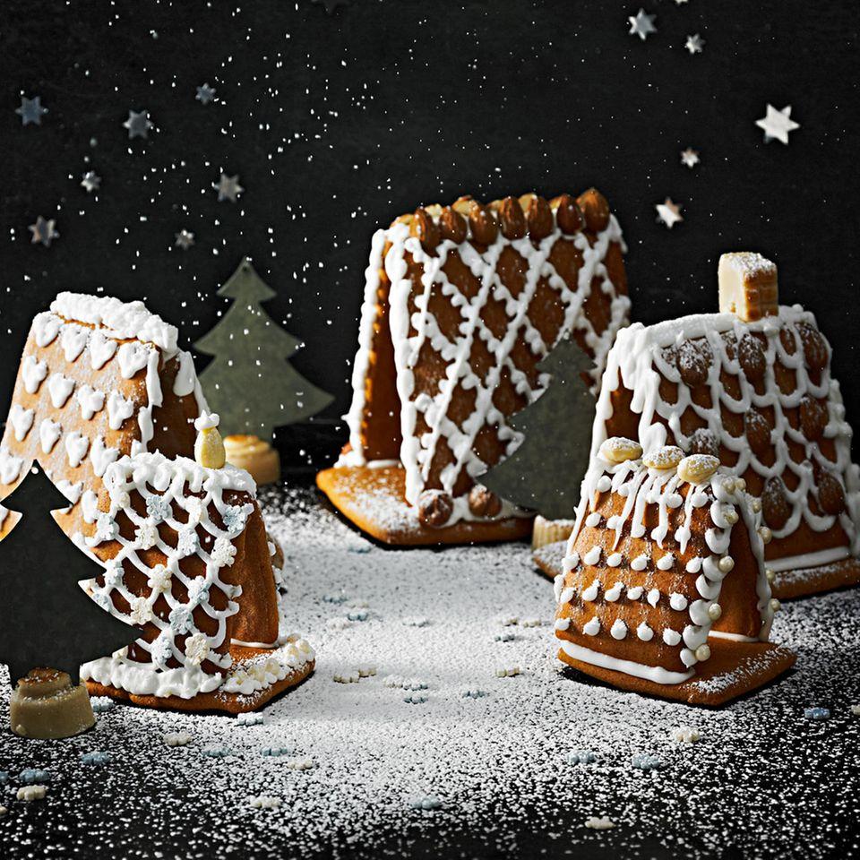 Pfefferkuchen-Häuschen