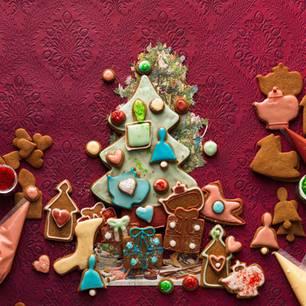 Ginger-Weihnachtsbaum