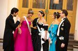 Promi-Events: Schwedische Royals lachen