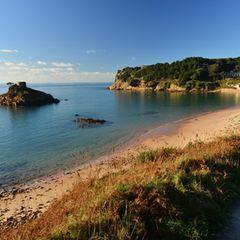 Küste und Strand auf Jersey