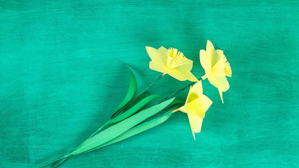 So easy! Wunderschöne Blumen selber basteln