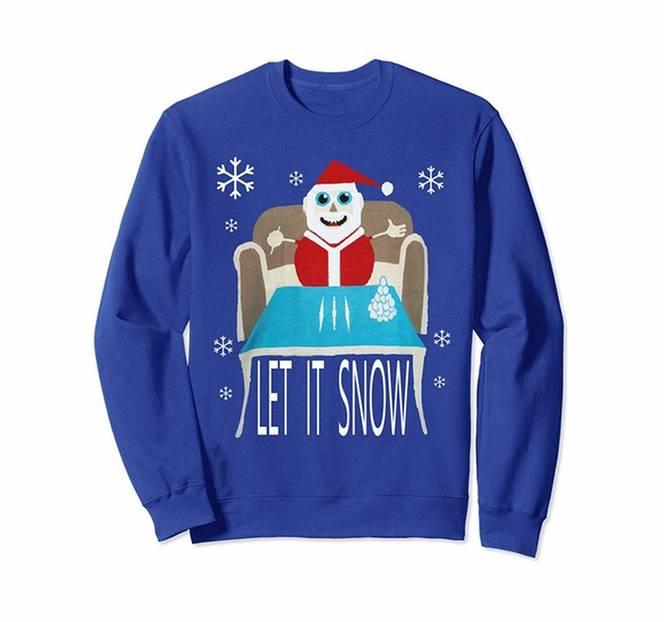 Cocaine Christmas Sweater