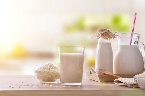 Reismilch: Reismilch im Glas