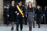 Gleiche Outfits der Royals: Prinzessin Elisabeth im Mantel