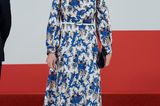 Gleiche Outfits der Royals: Königin Letizia im Blumenkleid