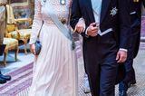 Gleiche Outfits der Royals: Prinzessin Sofia im weißen Kleid