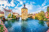 Bamberg Gebäude am Wasser
