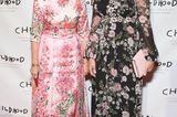 Gleiche Outfits der Royals: Prinzessin Madeleine im Blumenkleid