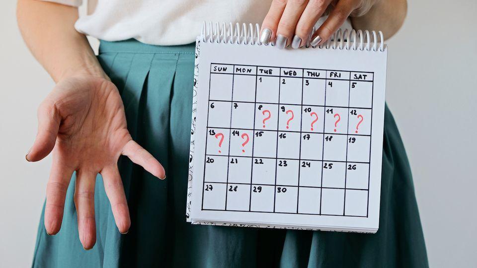 Auslösen wie kann man periode Periode bekommen: