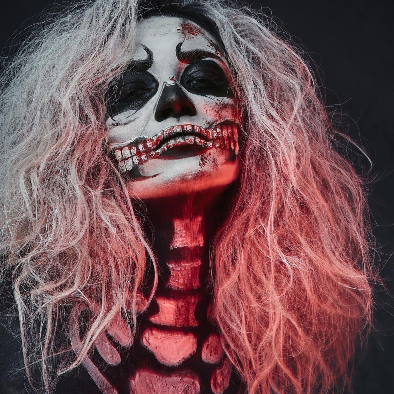 Halloween Schminke Fuer Maenner.Halloween Make Up Die Besten Ideen Zum Nachmachen Brigitte De