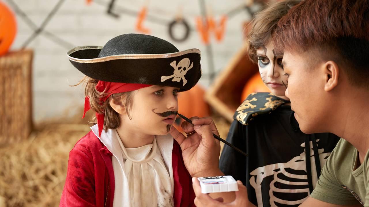 piraten schminken frauen