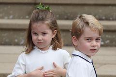 Prinzessin Charlotte+ Prinz George